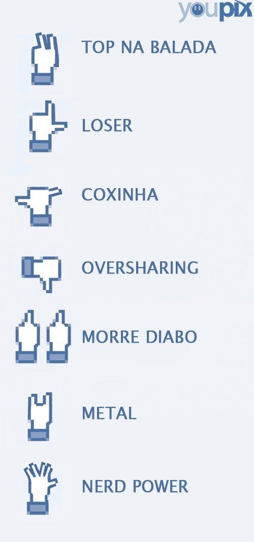 botao facebook novo like Que tal adicionar alguns novos botões ao Facebook? #humor