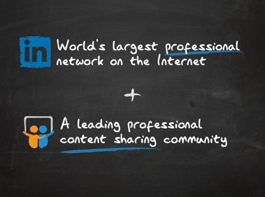 linked slideshare juntos Slideshare é comprado pelo LinkedIn por 119 milhões de dólares