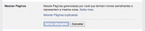 Ferramenta para unir e mesclar múltiplas páginas no Facebook