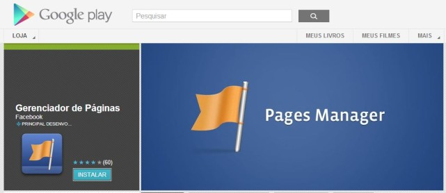 Aplicativo do Facebook Page Manager está disponível para Android, mas ainda não no Brasil