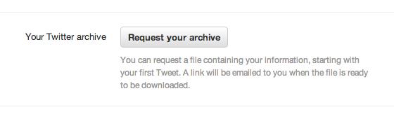 A opção de requisitar o arquivo deverá aparecer em suas configurações.
