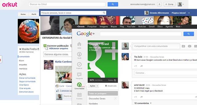 Das comunidades do Orkut, passando pelos grupos do Facebook e chegando as comunidades do Google+