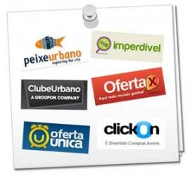 Alguns exemplos de empresas de Compras Coletivas