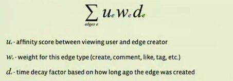 Cálculo do EdgeRank (inglês)