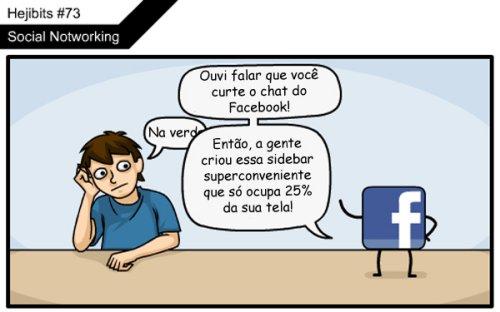 Tirinha do Final do Facebook