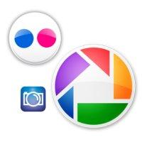 Flickr, Picasa e Photobucket