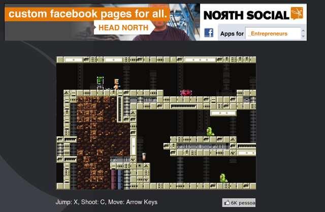 Exemplo de jogo em navegador sem utilizar Flash