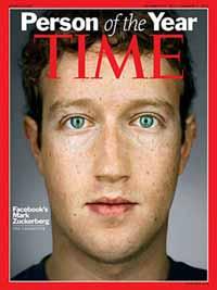 Capa da Time de 2010, Personalidade do Ano com Mark Zuckerberg