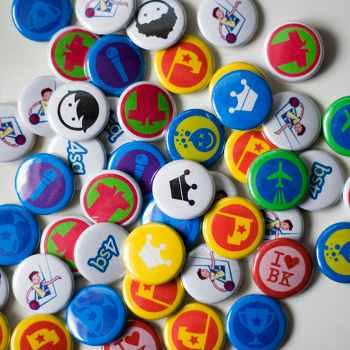 """Badges do Foursquare, a competição acaba ficando """"séria"""" demais."""