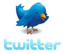 Passarinho Azul do Twitter