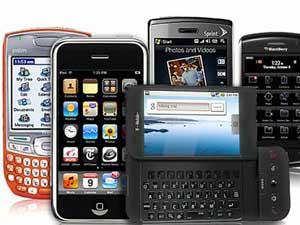 Alguns Smartphones