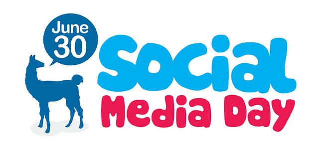 Logo usado para o Social Media Day (#smday) :)