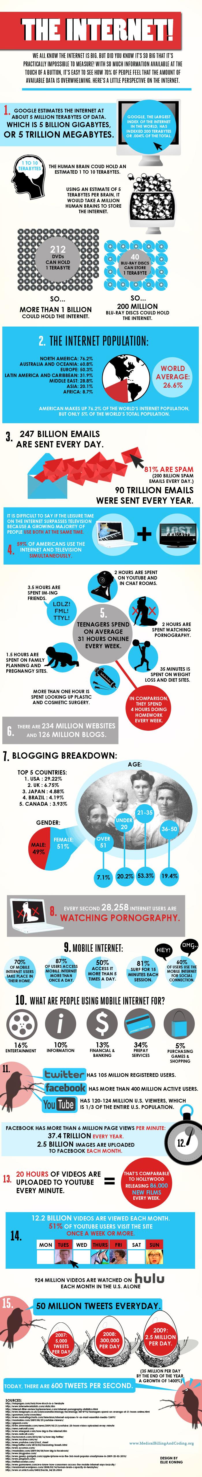 15 curiosidades sobre a internet